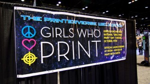 Girls Who Print Graph Expo
