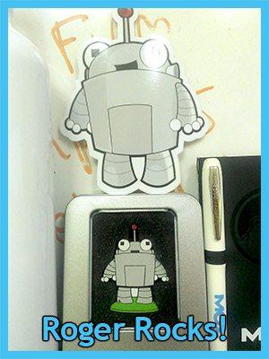 Roger the Moz mascot custom USB