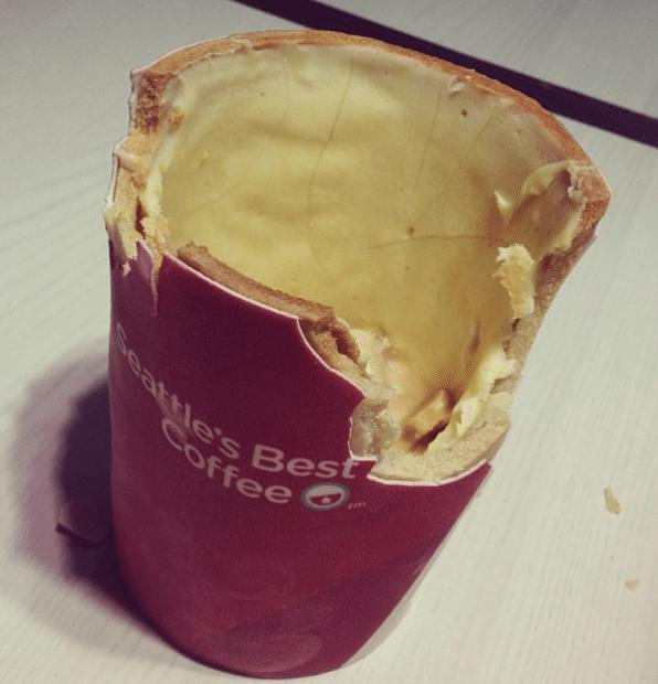 KFC Edible Coffee Cup 2
