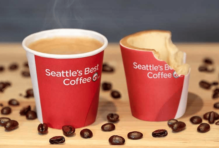KFC edible coffee cups
