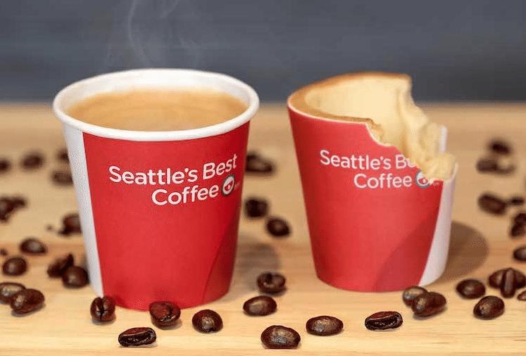 KFC edible coffee cups
