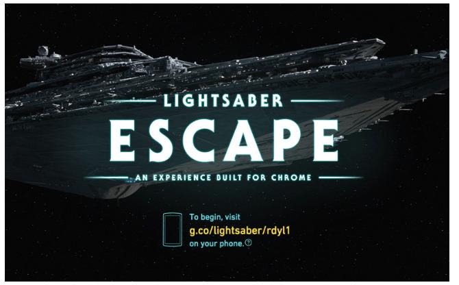 Lightsaber Escape Star Wars Print Media Centr