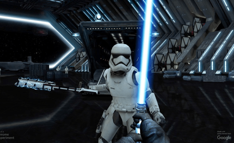 APP Turns Your Phone Into a Lightsaber To Celebrate Star Wars: The Force Awakens