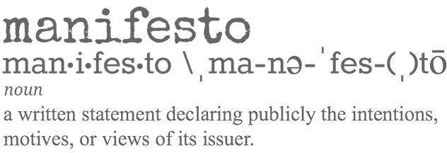 Print Media Centr 2016 manifesto