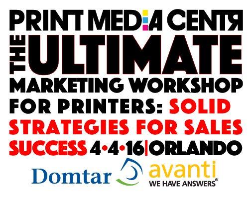 Print Media Centr, Domtar Paper and Avanti to present Pre-Conference Program at Xploration® 16