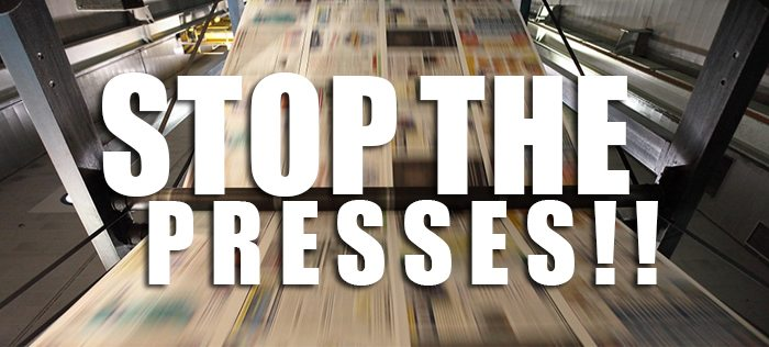 Stop The Presses _Print Media Centr