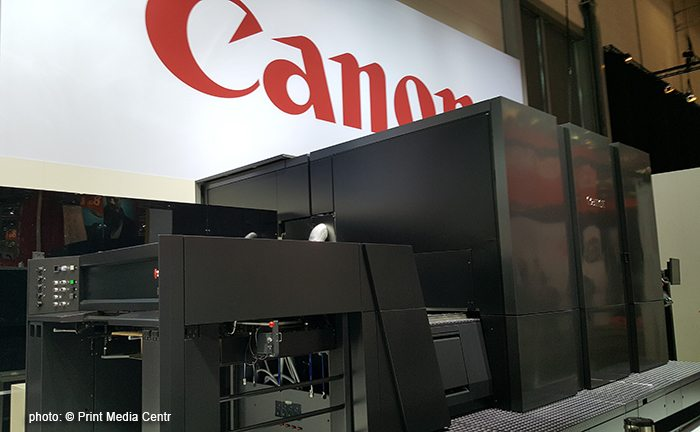 Canon Unleashes Print and Voyager at drupa 2016