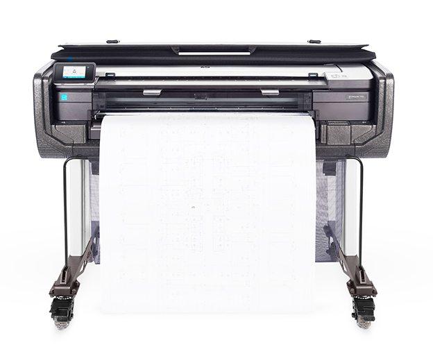 HP-DesignJet-T830 Print Media Centr #meandmydesignjet