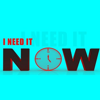 Time Management: What Happened to Respect For Immediacy?