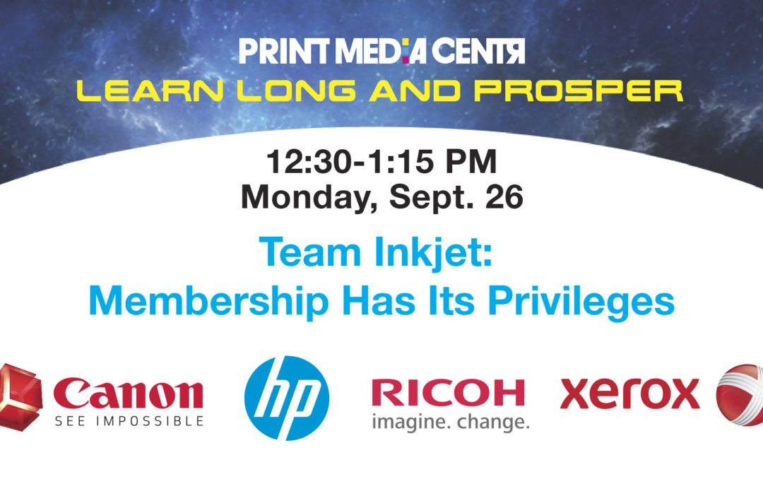 [VIDEO] Team Inkjet: Membership Has Its Privileges