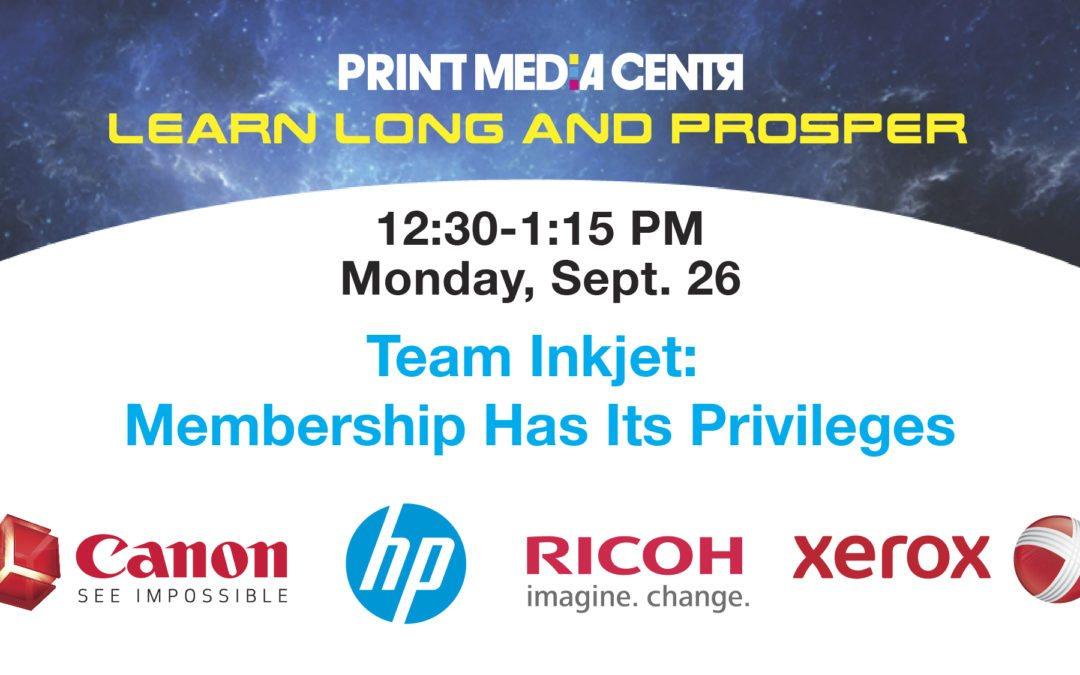 [VIDEO] Team Inkjet: Membership Has Its Privileges
