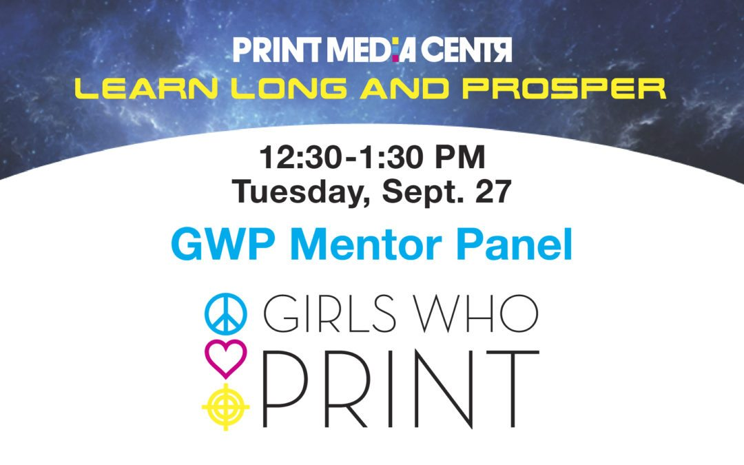 [VIDEO] National Girls Who Print Day Girlie Award and Mentor Panel 2016