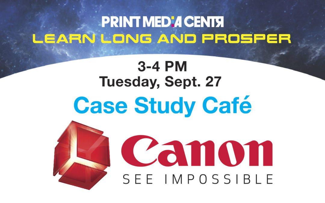 [VIDEO] Canon Solutions America Customer Panel