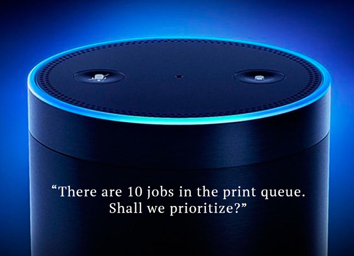 Alexa! Where's My Print Job?