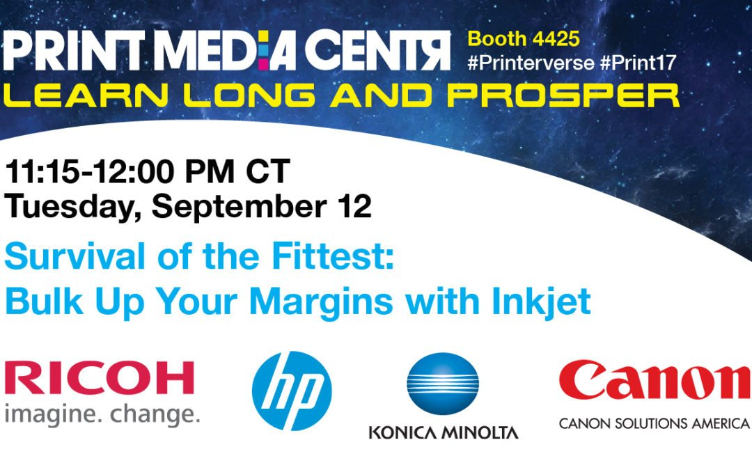 [VIDEO} Survival of the Fittest: Bulk Up Your Margins with Inkjet