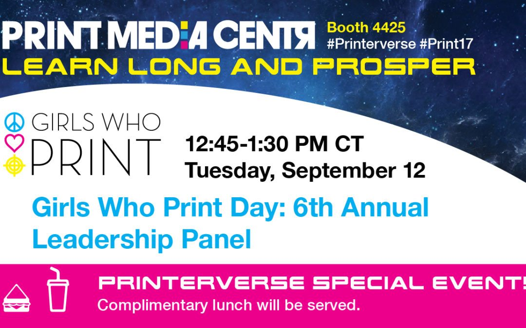 [VIDEO] 2017 Girls Who Print Day Leadership Panel