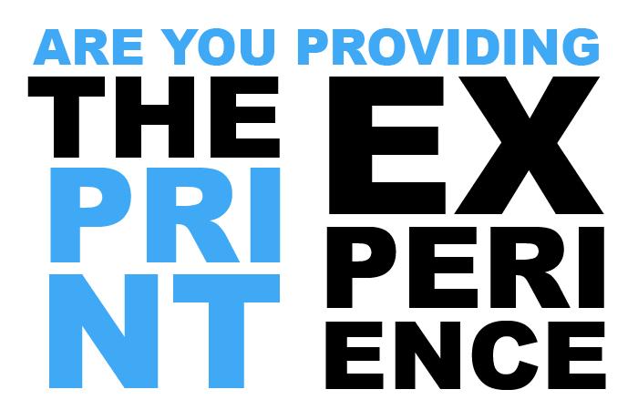 2018 CMYK MANIFESTO: PROVIDING THE PRINT EXPERIENCE