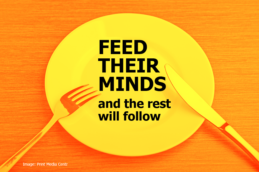 Your Clients are Hungry. What Are you Feeding Them Besides Sales?