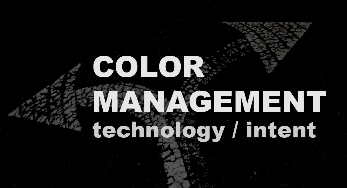 Color Management-print media centr