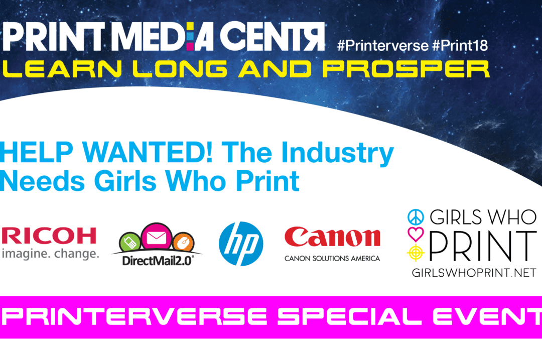[Video] HELP WANTED: The Industry Needs Girls Who Print!
