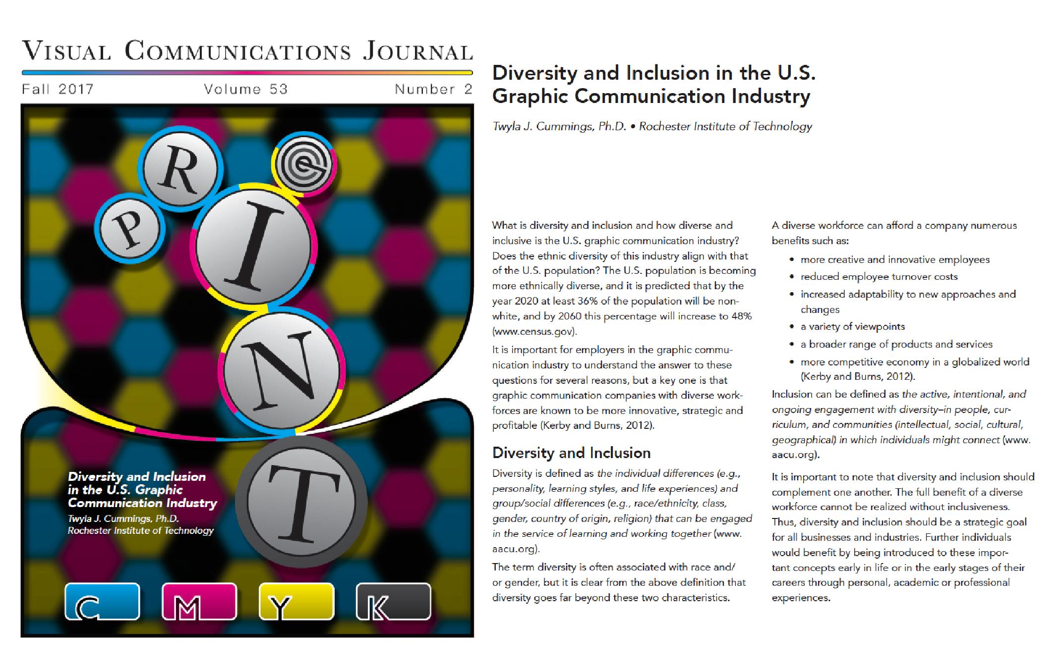 Diversity Study_Dr Cumings _ print media centr