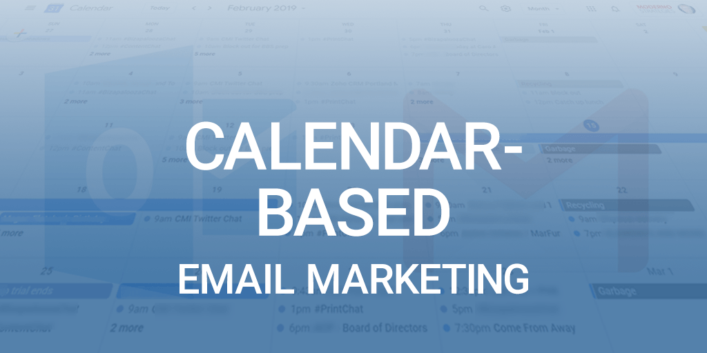 When it Comes to Email Marketing, Set a Date With Customers