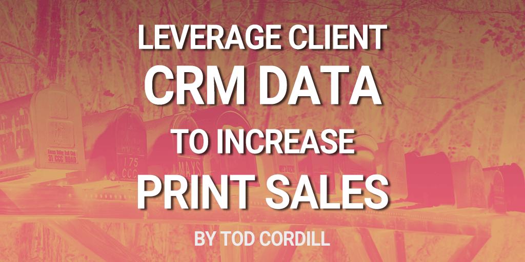 Leverage Client CRM Data